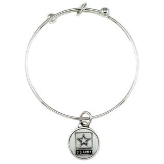 United States Army Bangle Bracelet
