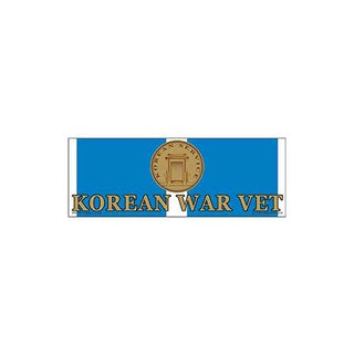 Korean War Vet Bumper Sticker