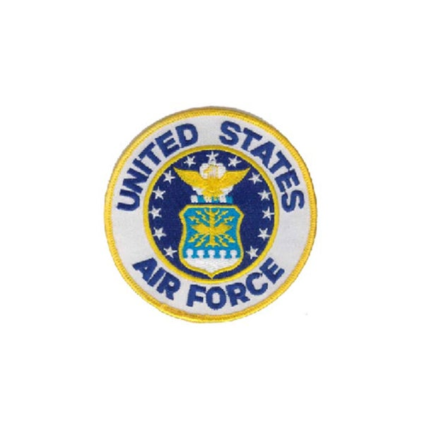 United States Air Force Small Embroidered Military Patch