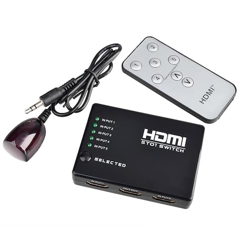 INSTEN High Performance/ Speedy HDMI Splitter for HDTV PS3 DVD with IR Remote