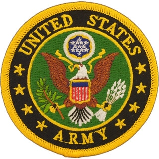 US Army Logo Small Embroidered Military Patch