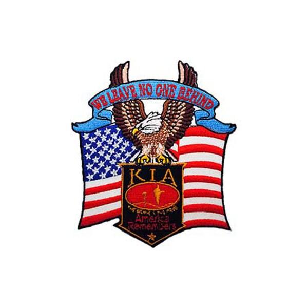 KIA Bald Eagle Small Embroidered Patch