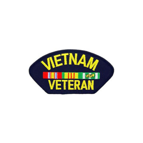 Vietnam Veteran Small Embroidered Patch