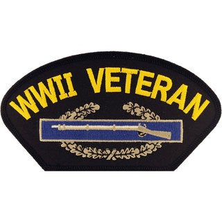 World War II Veteran Small Embroidered Patch