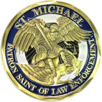 Saint Michael Police Department Coin