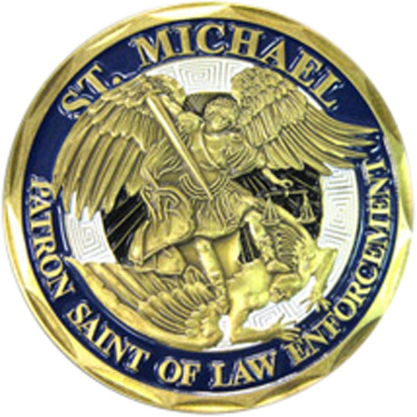Shop Saint Michael Police Department Coin On Sale Free