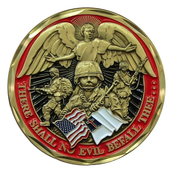 US Soldier's Psalm Challenge Coin