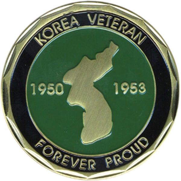 Korea Veteran Forever Proud Coin