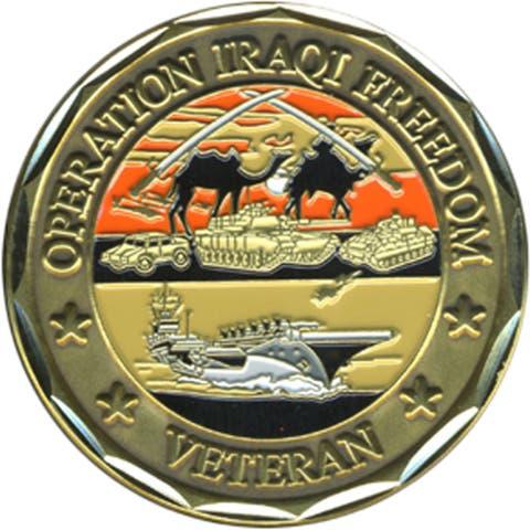 US Operation Iraqi Freedom Challenge Coin