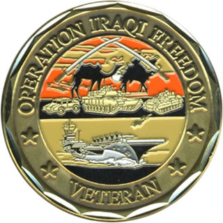 US Operation Iraqi Freedom Challenge Coin