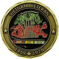 US Vietnam Proud Veteran Challenge Coin