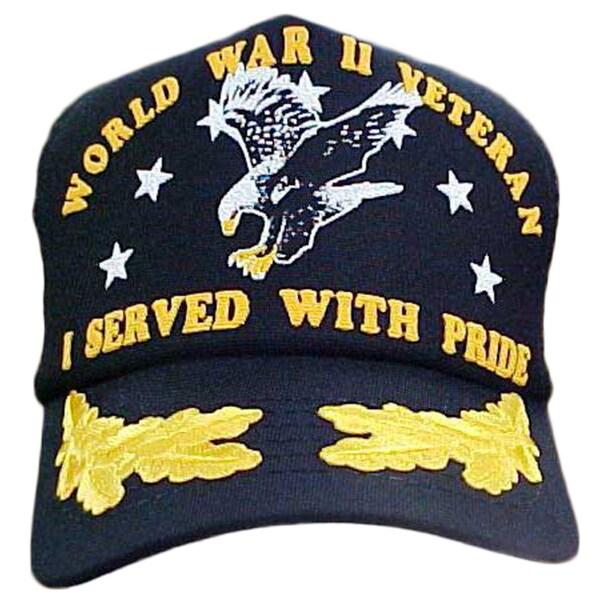 I Served With Pride Scrambled Eggs World War II Veteran Cap