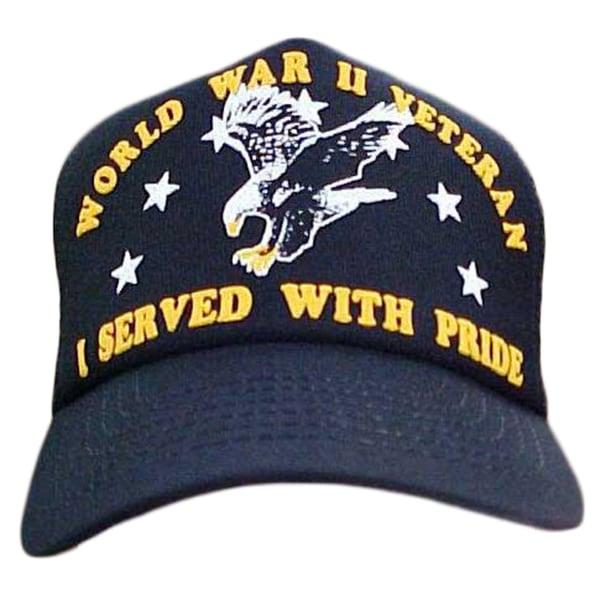 I Served With Pride World War II Veteran Baseball Cap