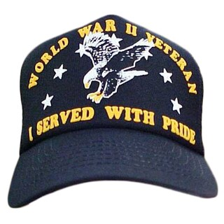 I Served With Pride World War II Veteran Baseball Cap