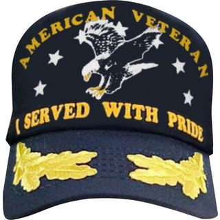 I Served With Pride American Veteran Scrambled Eggs Cap