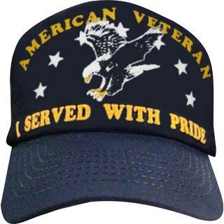 I Served With Pride American Veteran Baseball Cap