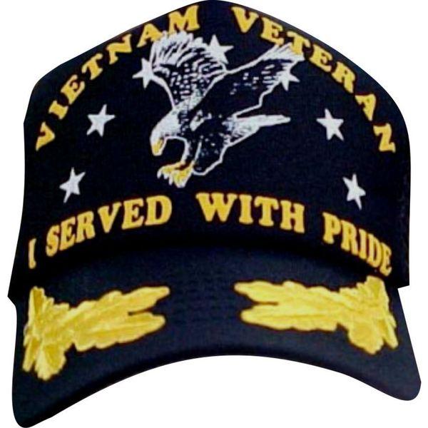 I Served With Pride Vietnam War Scrambled Eggs Baseball Cap