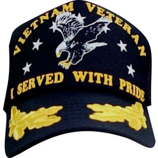 I Served With Pride Vietnam War Scrambled Eggs Baseball Cap
