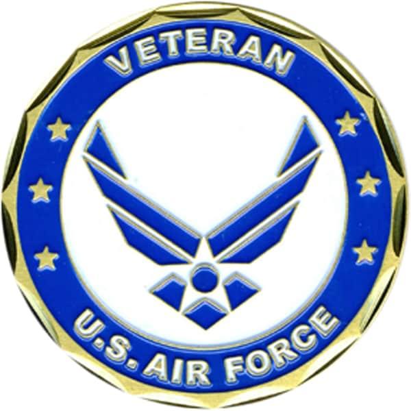 US Air Force Veteran Coin