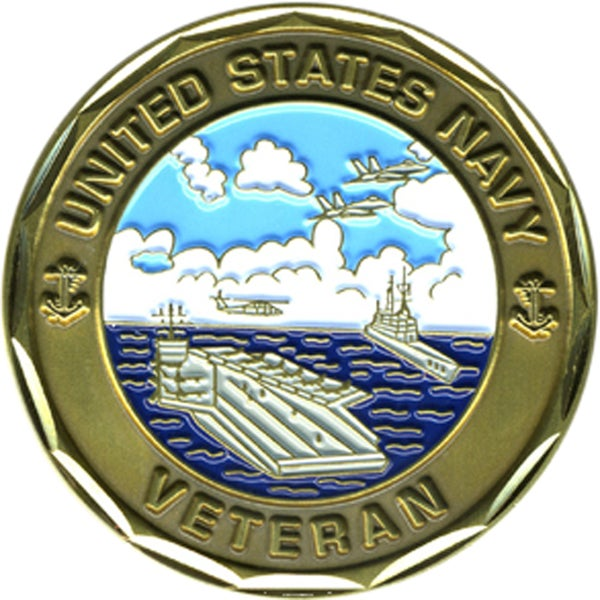United States Navy Veteran Coin