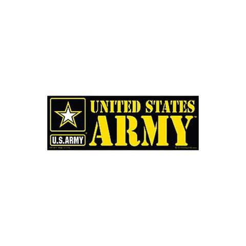 US Army Logo Bumper Sticker