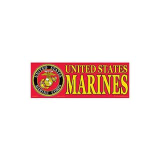 US Marine Corps Logo Bumper Sticker|https://ak1.ostkcdn.com/images/products/9488945/P16669921.jpg?impolicy=medium