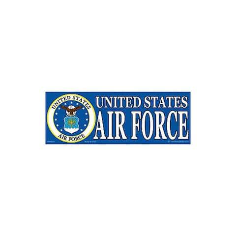 US Air Force Logo Bumper Sticker