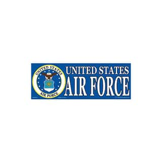US Air Force Logo Bumper Sticker|https://ak1.ostkcdn.com/images/products/9488946/P16669922.jpg?impolicy=medium