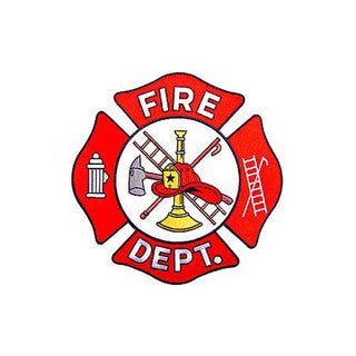 Fire Department Large Patch