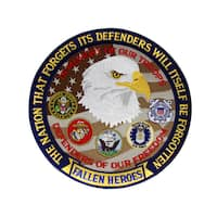 United States 'Fallen Heroes' Large Patch