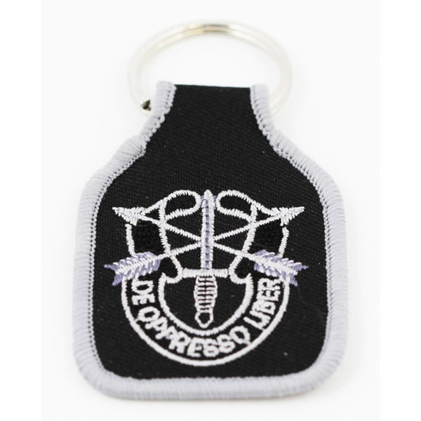 US Special Forces Embroidered Keychain