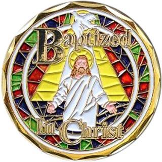 Bronze Baptism Coin