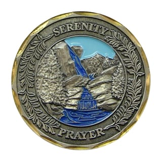 Bronze Serenity Prayer Coin
