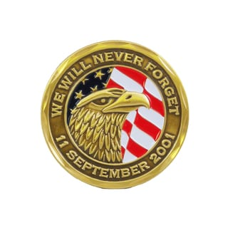 We Will Never Forget 9/11 Commemorative Coin