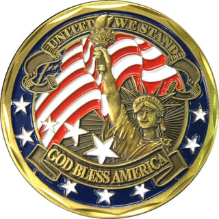 United We Stand 1776 Commemorative Coin