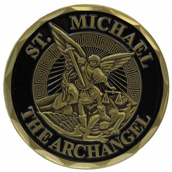 Shop St Michael The Archangel Infantry Challenge Coin