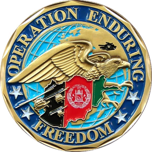 Enduring Freedom Afghanistan Commemorative Coin