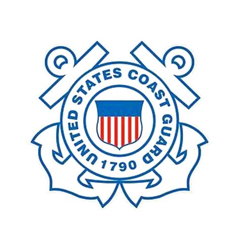 United States Coast Guard Logo Magnet