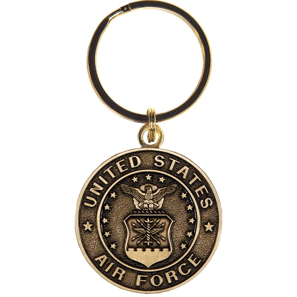 United States Bronze Air Force Keychain. Opens flyout.