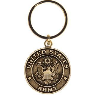 United States Bronze Army Keychain