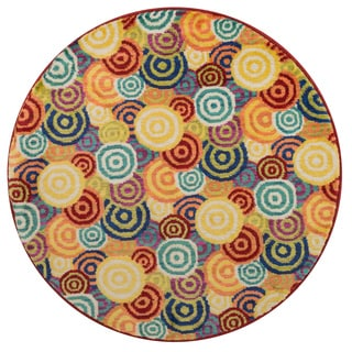 Tinsley Multi Round Rug (3'0 x 3'0)