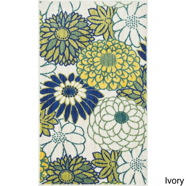 Tinsley Multi Blossom Runner Rug (2'2 x 5'0)