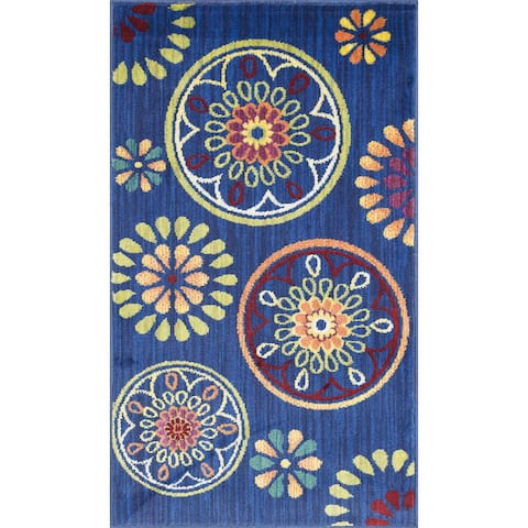 Alexander Home Tinsley Medallion Rug