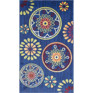 Link to Alexander Home Tinsley Medallion Rug Similar Items in Rugs
