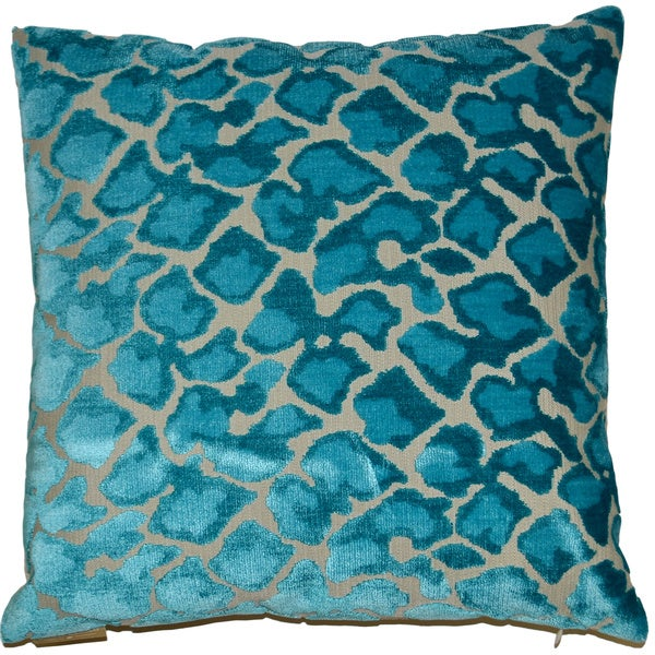 Swagger Feather Filled 18-inch Decorative Throw Pillow