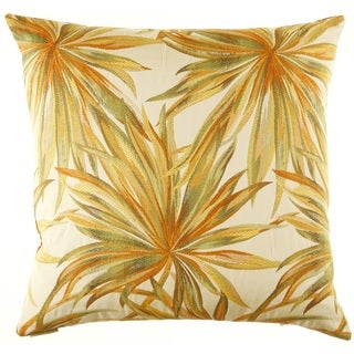 Coastal Feather Filled 24-inch Decorative Throw Pillow