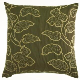 Lyric Feather Down Hidden Zipper 24-inch Decorative Throw Pillow (Multi)