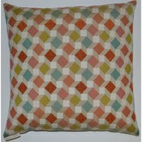 Izzy Feather Filled Throw Pillow