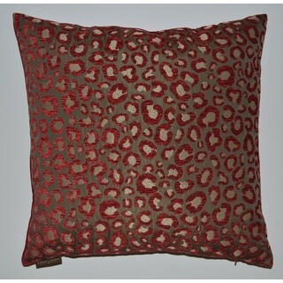 Wine Sarafina 20-inch Feather Filled Throw Pillow