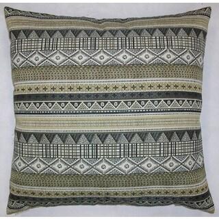 Kamba Feather Filled Throw Pillow